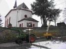 2010 - Baumfällaktion an der Kirche