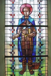 Kirchenfenster Donatuskirche
