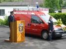 2003 - Einweihung GWTS Fahrzeug