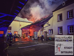 2021 - Grossbrand in Matzen