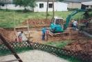 Bau des Feuerwehrgerätehauses